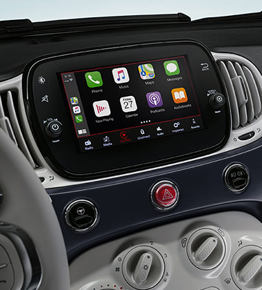 APPLE CARPLAY/ANDROID AUTO™